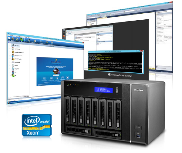 Deploy Enterprise Cloud Computing with the integrated Virtualization Station